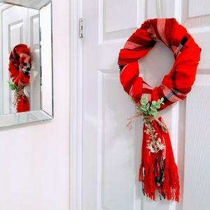 Christmas ready..  Hand made wreath.